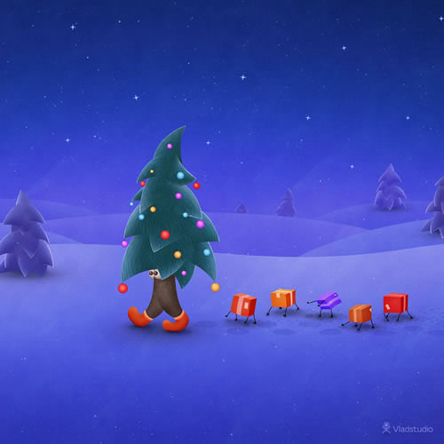 christmas wallpapers for iPad Lovers
