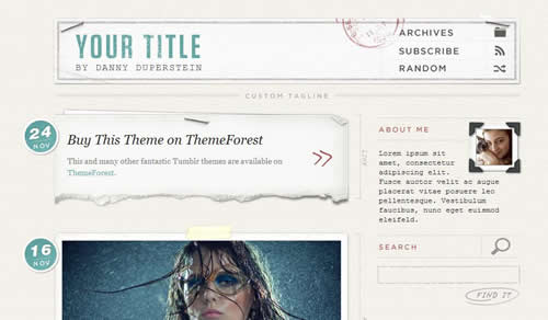 tumblr themes