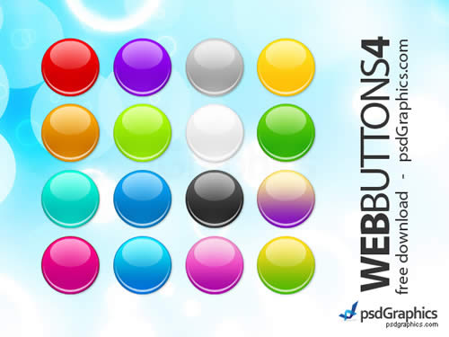 free web elements psds