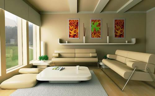 3d Interior design scenes