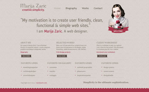 awesome html5 portfolio websites
