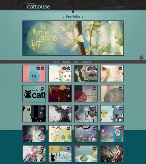 awesome html5 portfolio websites