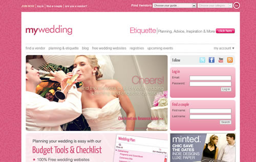 Wedding Planning Websites.The Best Websites To Plan Weddings And Events Smashing Wall