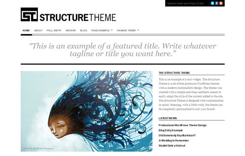 free minimal wordpress themes