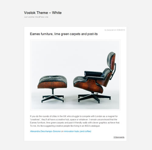 free minimal wordpress themes