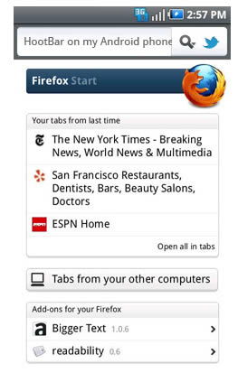 Firefox Add-ons For Mobile