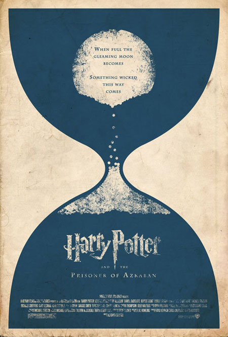 Harry Potter and the Prisoner of Azkaban retro movie poster
