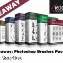 Giveaway: Photoshop Brushes Packs From VectorPack.net