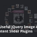 36 Useful jQuery Image And Content Slider Plugins