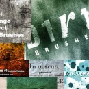 500+ Photoshop Grunge Brushes Free Download
