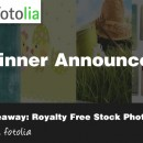 Winner Announced: from Royalty Free Stock Images by Fotolia